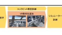 航空機の整備士向けにVRで人材育成する取り組み。JALがトライアルを実施