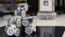 Researchers develop modular bots that combine to form a single flexible machine