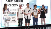 2019 香港动漫电玩节首日盛况,前三名进场获奖 Galaxy S10+