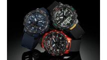 PRO TREK初の歩数計測とスマホ連携、カシオ新腕時計 PRT-B50登場