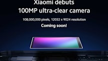Xiaomi、1億画素カメラ搭載スマホを予告。サムスン製センサー採用