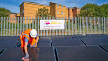 'World's first' solar-powered rail line opens in the UK