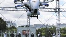 NEC、旅客ドローン「空飛ぶクルマ」の初浮上試験に成功。「空の移動革命」向け管理基盤構築へ