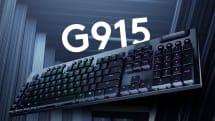 罗技发布新一代薄型机械键盘 G915 与 G815