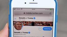米トランプ大統領、「Twitterブロックは違憲」判決に再審理を求める