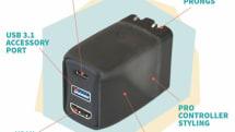 ニンテンドースイッチ向け超小型ドックCovert Dock発表、PD対応30W充電器にHDMI出力を一体化