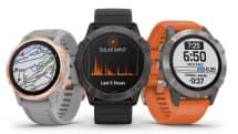 ガーミン、GPSウォッチ「fenix 6シリーズ」発表。ソーラー充電モデルも