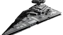 Lego's Imperial Star Destroyer set has 4,700 pieces and is 43 inches long