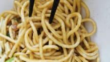 日清「完全栄養」中華麺を食す。ラーメンより蕎麦に近い