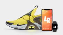 ナイキ、Apple WatchとSiri対応シューズ「Adapt Huarache」発表。音声でひも調整可能に