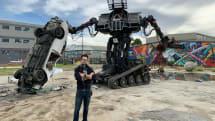 水道橋重工クラタスと戦った米MegaBotsが破産。Eagle Primeを競売に