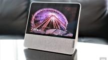 联想的 Smart Display 7 是搭了摄像头的 Nest Hub