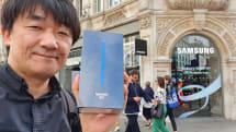 ロンドンで5Gスマホ「Galaxy Note10+ 5G」を買ってみた(山根康宏)