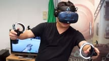 HTC Vive Cosmos 動手玩:六鏡頭定位追蹤的新一代 VR 系統