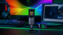 Razerがドット絵ディスプレイ内蔵マイクを発表