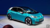 VW 公佈量產版 ID.3 電動車