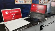 ダイナブックの新たな一手は大画面モバイル。15.6型画面で約1.4kgのdynabook Z発表