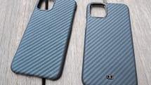 アラミド繊維のiPhone 11 Proケース、Deff製とPITAKA製で比べてみた