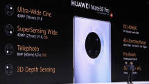 Huawei's Mate 30 Pro has a 'quad-camera' array and a vegan leather option