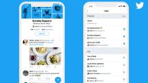 iOS版Twitterアプリ、ホーム画面のリスト切替機能が正式公開。スワイプで切り替え