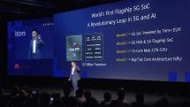 華為麒麟 990 5G SoC 正式亮相