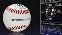 球速や回転数などの投球データを計測できるIoTボール「Technical Pitch」