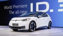 フォルクスワーゲンの新型EV「ID.3」市販モデル初公開 欧州では約360万円から
