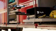 自動飛行ドローンのSkydio、自動離着陸ボックスで24時間無人運用を可能に