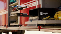 Skydio 設計了一個無人機升降平台系統,實現無間斷工作