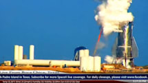 SpaceXの宇宙船Starship試作機、タンク加圧試験中に破裂。先端部は高さ150mまで吹き飛ぶ