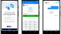 決済機能Facebook Payを米国で発表。InstagramやWhatsAppでも利用可能に