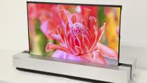 シャープ、「巻けるテレビ」向け有機ELパネル発表 NHKと共同開発