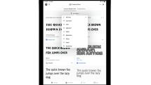 iOS 13/iPadOSで無料のAdobeフォント1300種類が利用可能に