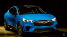 野马 Mach-E 是福特最新的电动 SUV