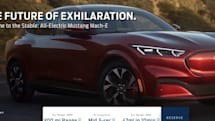 発表前の「Mustang Mech-E」うっかりウェブに公開。スポーツカー「マスタング」インスパイアの電動SUV