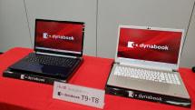 MacBook Proに先んじた「15型の本体に16型画面」なホームノートPC、dynabook T9/T8冬モデル発表