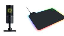 Razer、アイコン表示できるUSBマイクとChroma対応マウスパッドを11月29日に発売