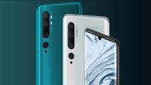 Xiaomi、108MP(1億800万画素)カメラ搭載のMi Note 10をグローバル発表