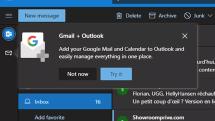 微软正测试在网页版 Outlook 整合 Gmail 服务