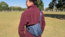 体の線に沿って曲がる!? 「Parsonal Pocket Bag」のフィット感が素晴らしい|ベストバイ2019