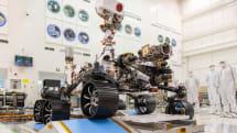 火星探査車「Mars 2020」ローバーの試運転が完了。地球重力下で10時間の連続運用を確認
