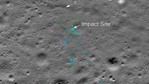 NASA、インドの月着陸機ヴィクラムの衝突場所画像を公開。アマチュア天文家が発見し報告