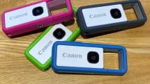 キヤノンのカラビナ型カメラ「iNSPiC REC」国内発表、1万3800円で12月下旬発売