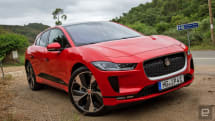 Jaguar's I-Pace software update boosts the range by 12 miles