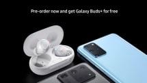 「Galaxy S20+」の予約ページ画像流出か、端末予約で「Galaxy Buds+」プレゼント