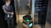 ロボットがエレベーター乗り荷物運ぶ、WCPがデモの様子を公開