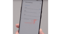 OnePlus 8 Pro(仮)の実機リーク、120Hz/90Hzの画面設定が存在か