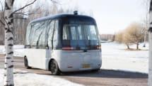 ソフトバンク子会社、無印良品デザインの自動運転バス「GACHA」開発元と提携