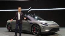 ソニー「VISION-S」に見る、スマホメーカーが自動車業界で活かせる強みとは(石川温):CES 2020