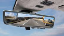 アストンマーティン、CESに鏡とカメラ切替式のハイブリッドミラーシステムを出展